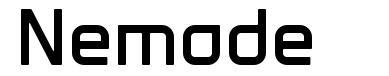 Nemode шрифт