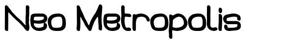 Neo Metropolis font