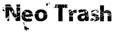 Neo Trash font