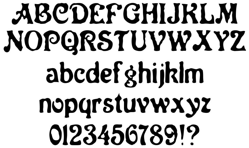 Neo Victorian font by Woodcutter - FontRiver