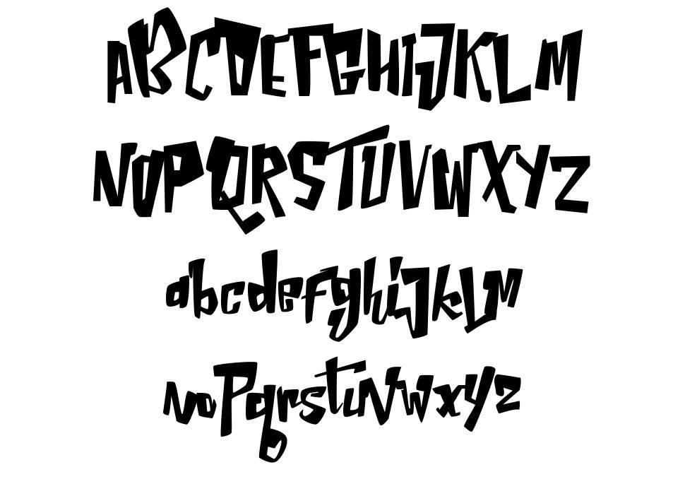 Neptern font