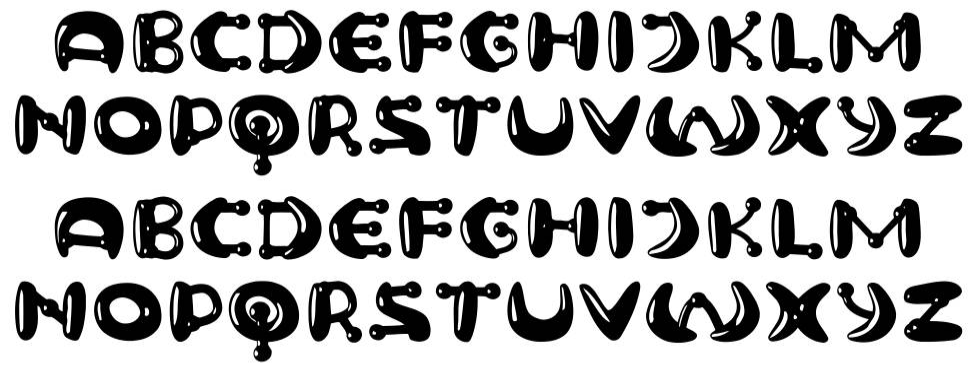 Neuron шрифт