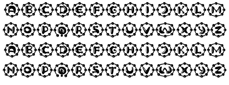 Neuron Capitals font