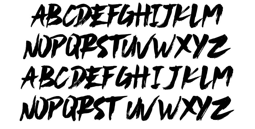 Never Settle font