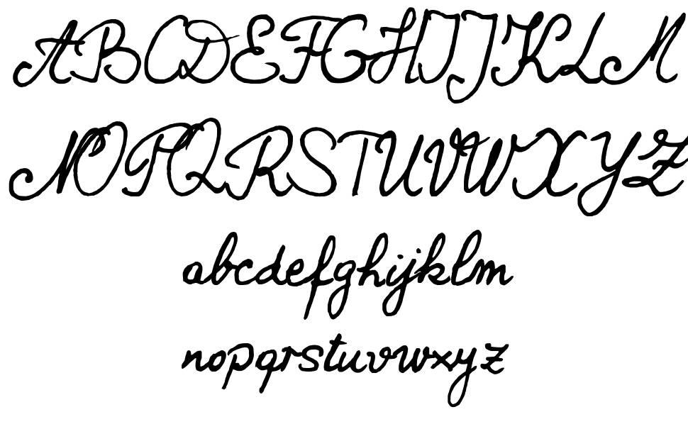 New Bernard font