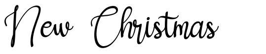 New Christmas fonte