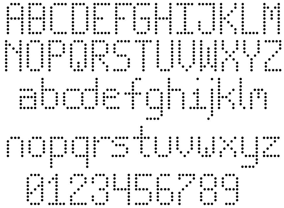 New Led Board TFB font by kaiserzharkhan - FontRiver