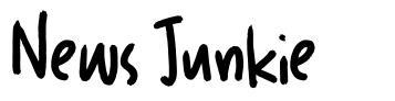 News Junkie 字形