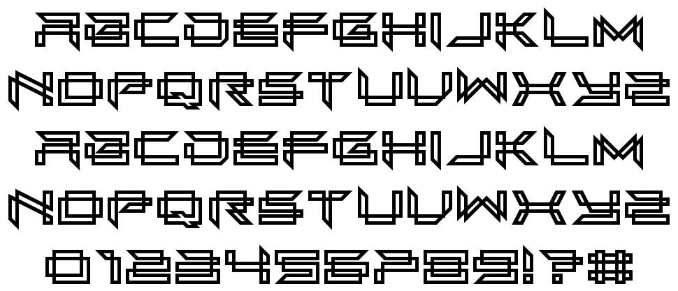 Next In Line font
