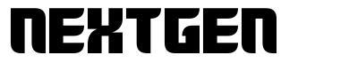 Nextgen font