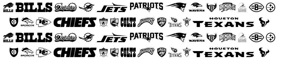 NFL AFC font