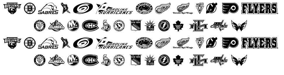 NHL East font