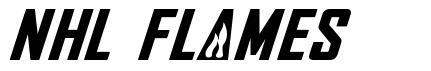 NHL Flames fonte