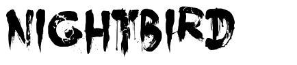 Nightbird font