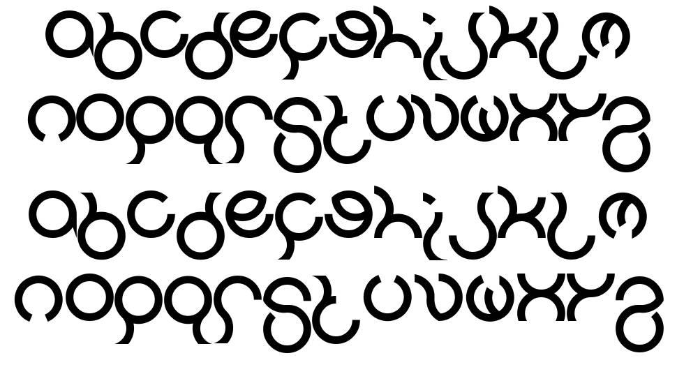 Nine font