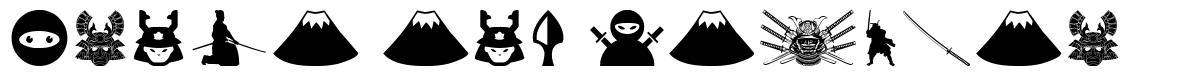 Ninja and Samurai font