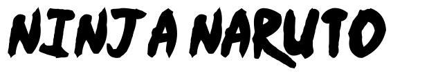 Ninja Naruto fonte