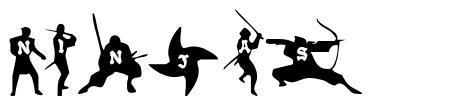 Ninjas schriftart