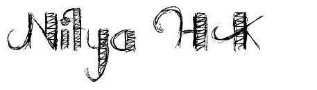 Nitya HK font
