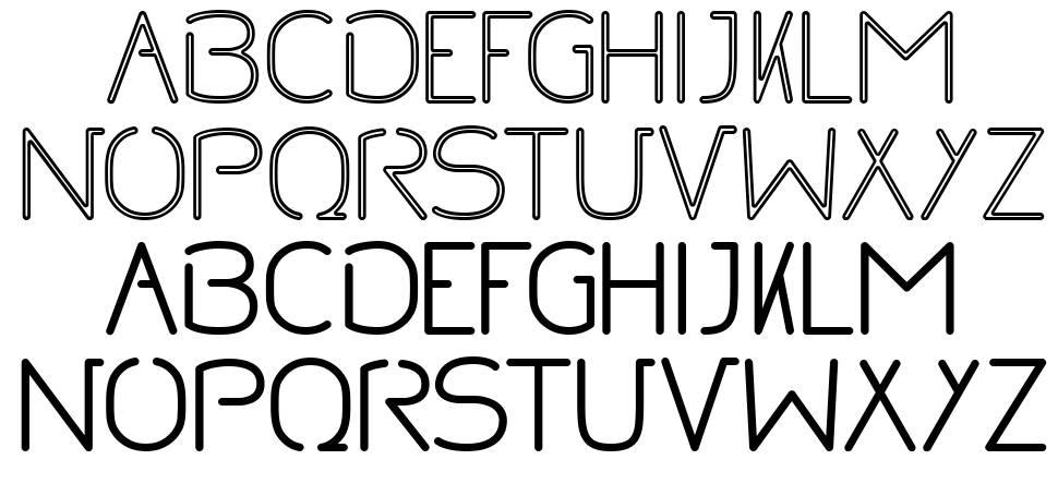 No font