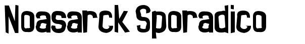 Noasarck Sporadico font