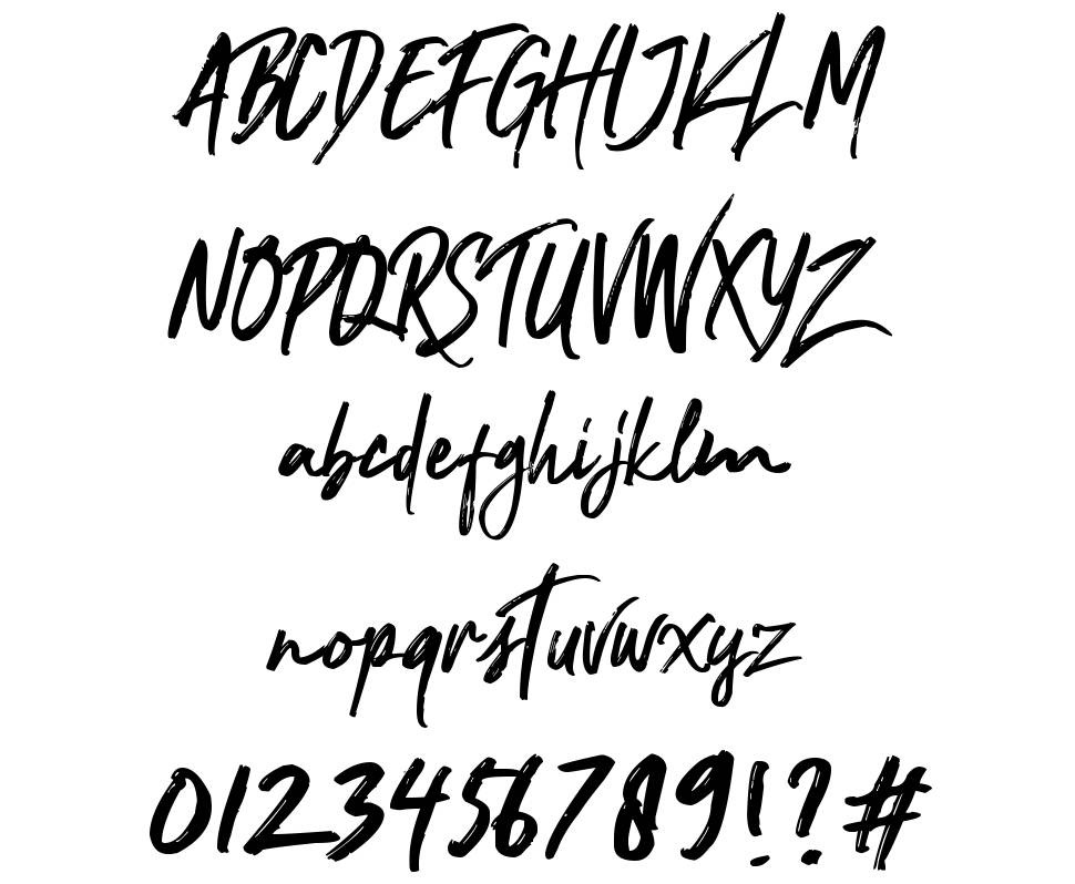 Nocturnal font