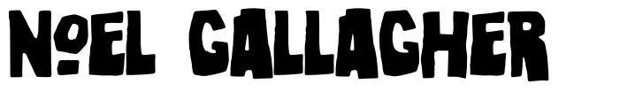 Noel Gallagher font