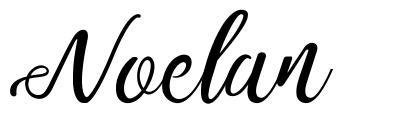 Noelan шрифт