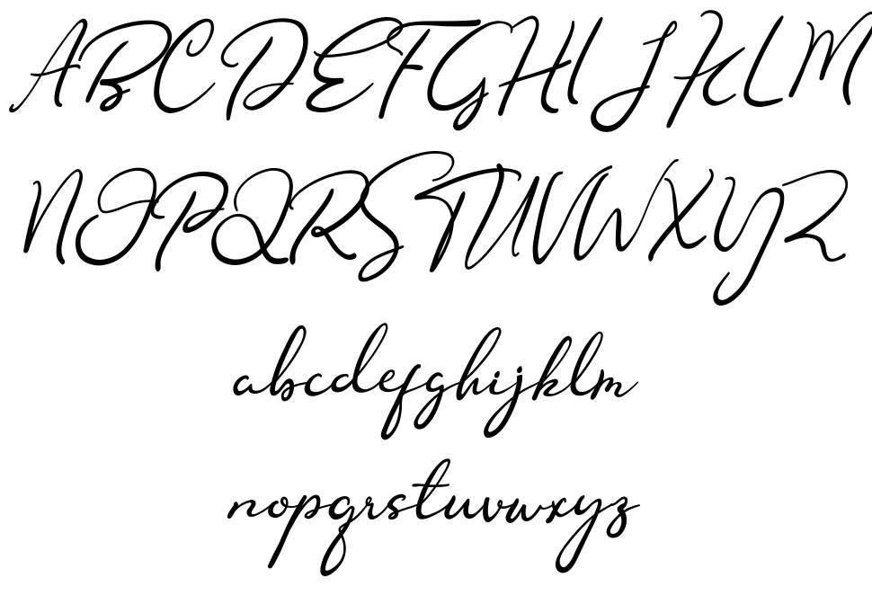 Nofhistica шрифт