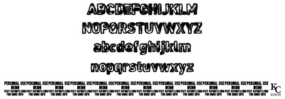 Noises in the Attic font