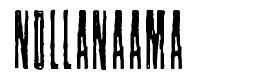 Nollanaama шрифт