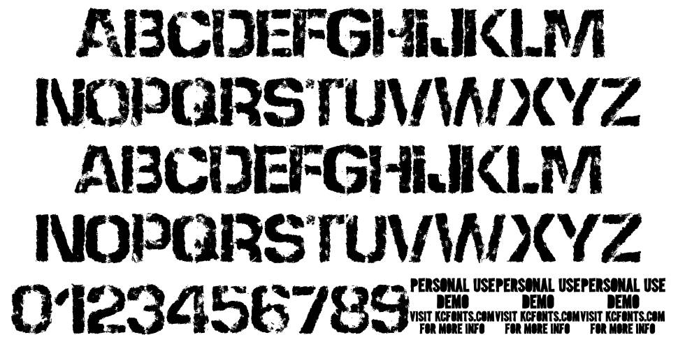 None Shall Pass font