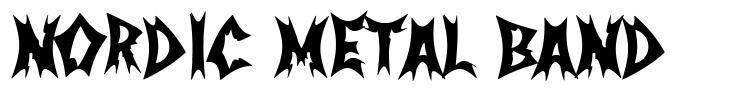 Nordic Metal Band fonte