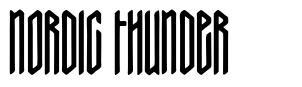 Nordic Thunder font