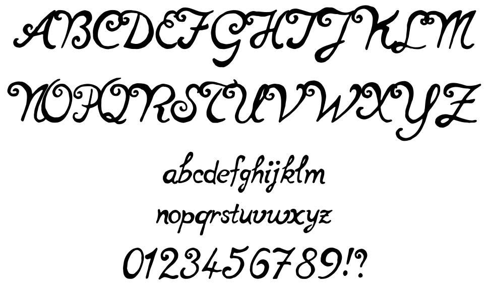 Not Perfect font