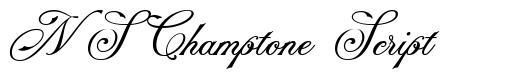 NS Champtone Script