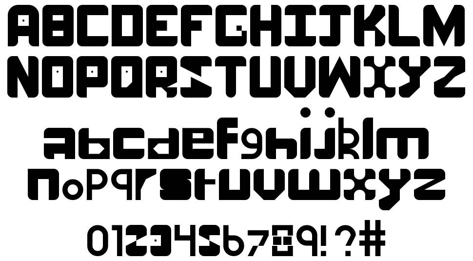Number One font