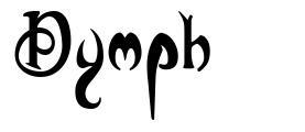 Nymph font