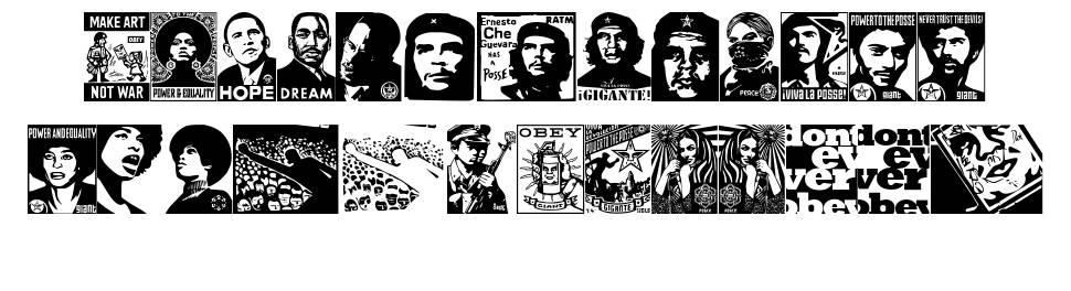 Obey Revolution font