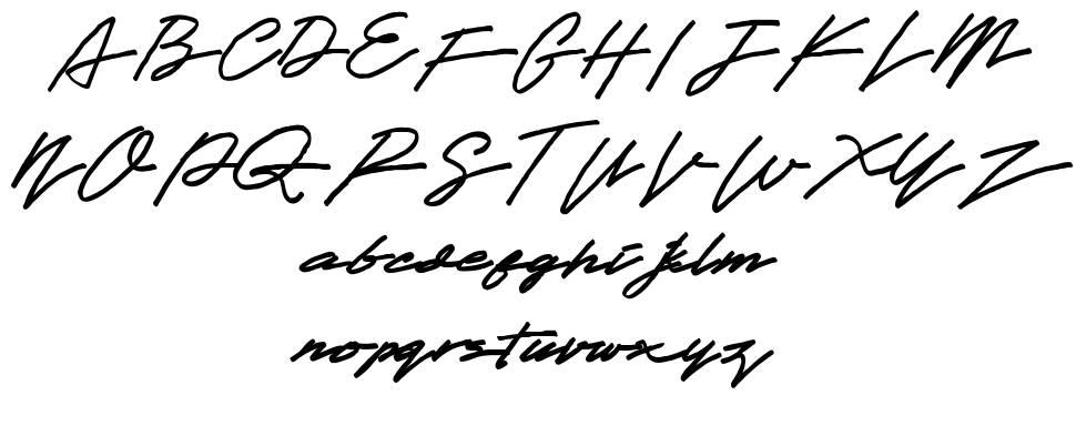 Obey Signature font