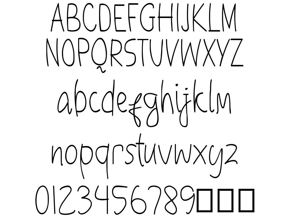 Objectivers font