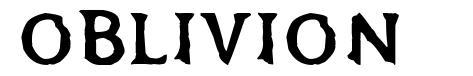 Oblivion font