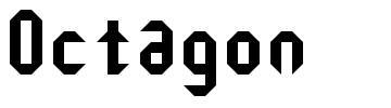 Octagon font