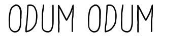 Odum Odum