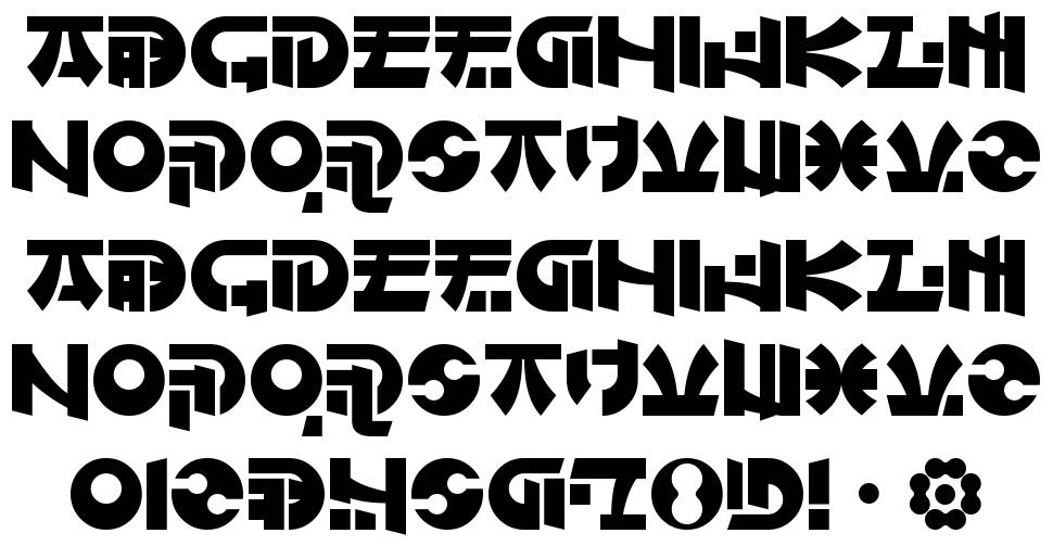 Of Maids And Men font