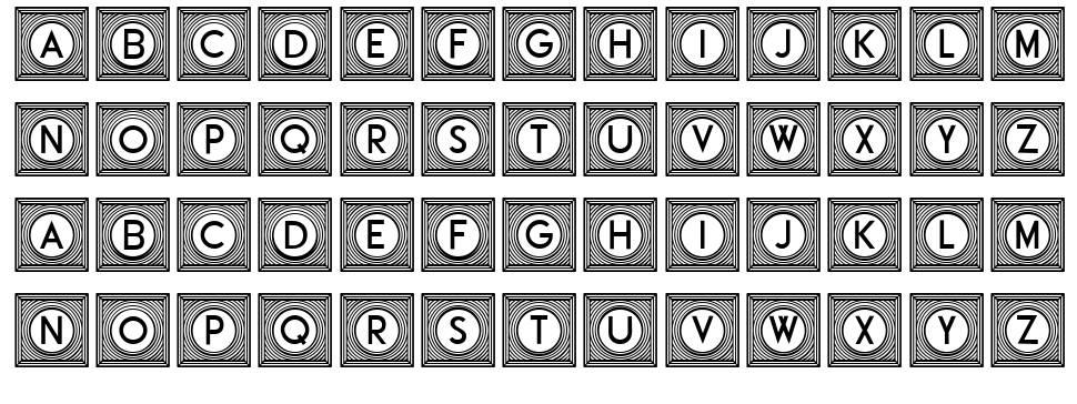 Official Capitals font
