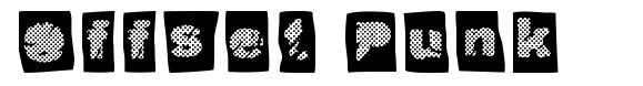Offset Punk font