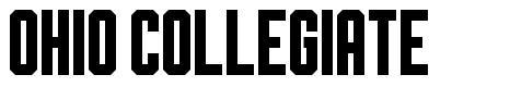 Ohio Collegiate font