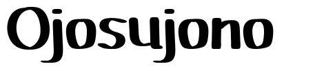 Ojosujono font