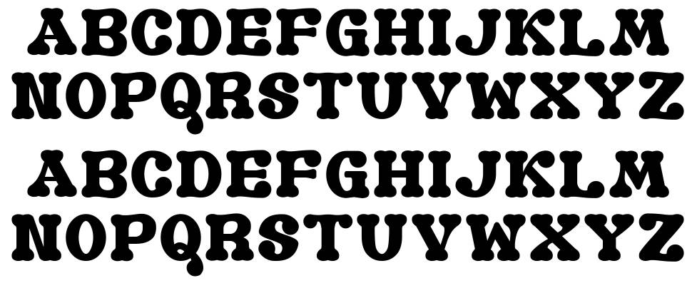 Old Book G font